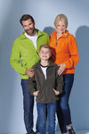 JN 044K James&Nicholson Full-Zip Fleece Junior