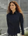Fruit of the Loom 65-012-0 Ladies` Poplin Shirt LS
