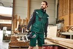 JN 845 James&Nicholson Workwear Softshell Vest -STRONG-