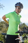 JN 513 James&Nicholson Ladies´ Bike-T Half Zip